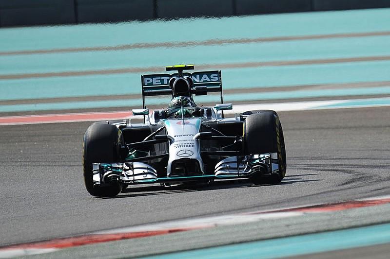 Гран При Абу-Даби: третья тренировка