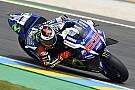 ロレンソがポールポジション。ロッシは7番手に沈む:MotoGPル・マン