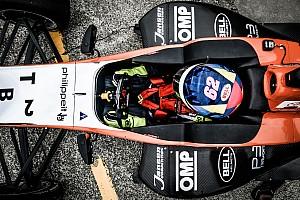 Formula Renault BRÉKING Habsburg Ferdinánd megvillantotta sebességét Hampton Downsban