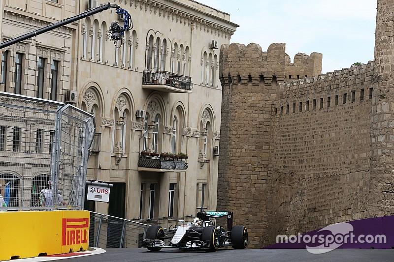 欧洲大奖赛FP1:梅赛德斯拔得头筹