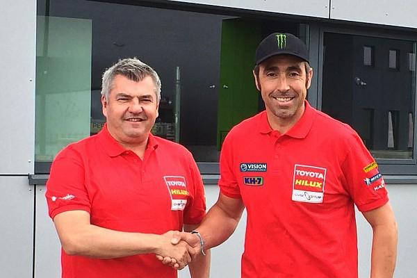 Dakar Noticias de última hora Toyota anuncia el fichaje de Nani Roma para el Dakar 2017