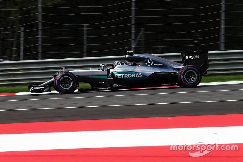 奥地利大奖赛FP2:大雨突降,罗斯伯格蝉联第一
