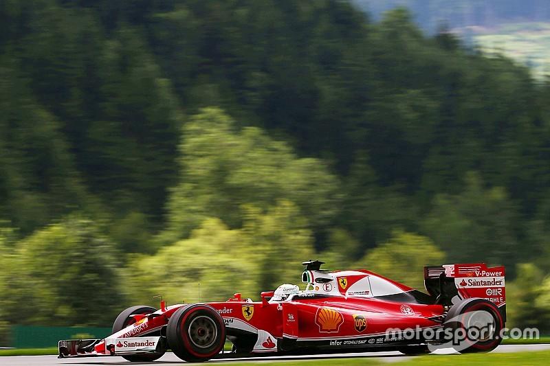 奥地利大奖赛FP3:法拉利包揽一、二名,罗斯伯格遭遇大撞车