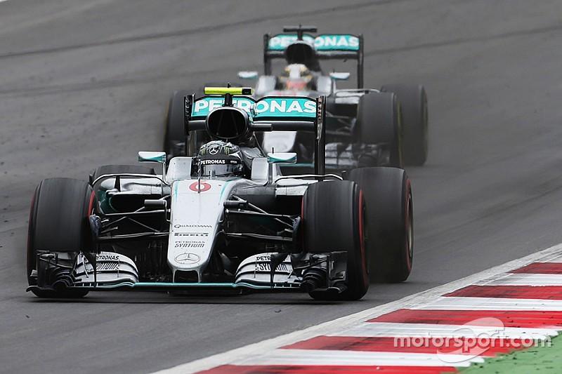 沃尔夫:罗斯伯格有刹车故障,两位车手最后一圈都没带脑子