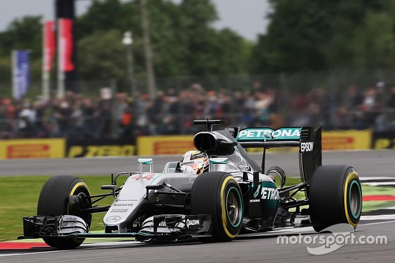 F1イギリスGP予選:タイム抹消を乗り越えハミルトンがPP。アロンソ10位