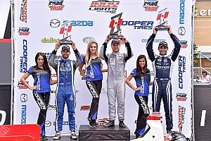 Indy Lights Reporte de la carrera Rosenqvist venció en Toronto y Urrutia fue cuarto