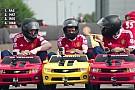Geral VÍDEO: Atletas do Manchester United em corrida de mini-carro