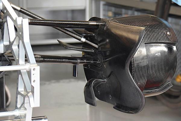 Formule 1 Analyse Technique - Écope de frein avant de la Toro Rosso STR11