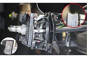 Mercedes: i dischi Carbon Industrie ora sono concavi
