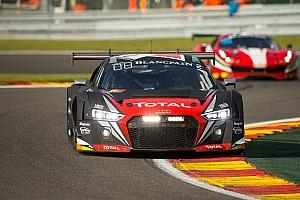Blancpain Endurance Nieuws Frijns positief na tonen snelheid Audi R8 LMS