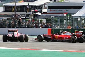 Формула 1 Новость Феттель назвал Ферстаппена виновником аварии в первом повороте