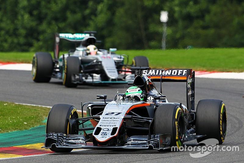 ヒュルケンベルグ「赤旗のせいで、F1キャリア初の表彰台を逃した」