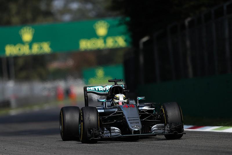 意大利大奖赛FP3:汉密尔顿蝉联第一,法拉利被甩开