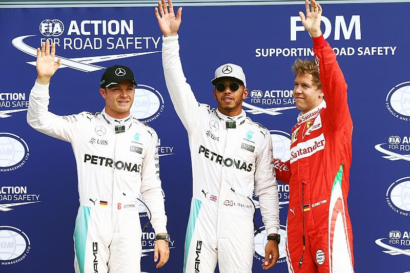 意大利大奖赛排位赛:汉密尔顿连续三年夺得杆位!