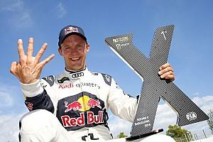 World Rallycross Son dakika Ekstrom WRX finali için ilk defa bir DTM yarışına çıkmayacak!