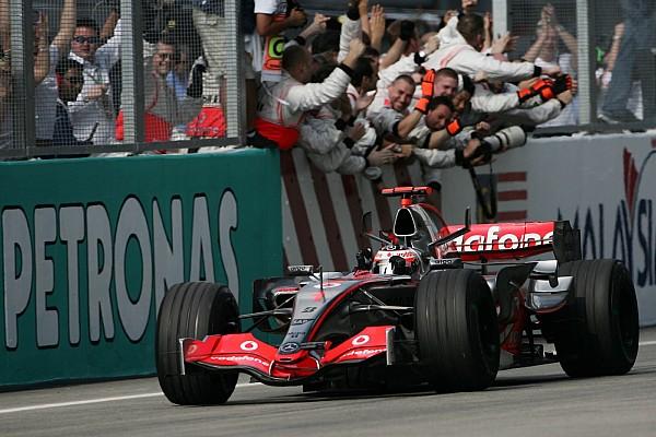 Formule 1 Diaporama Sepang 2007, la première victoire d'Alonso avec McLaren