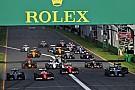 2017 F1 takvimi yayınlandı