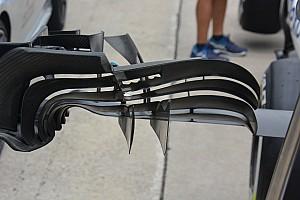 Technique - L'aileron avant dentelé de la Williams FW38