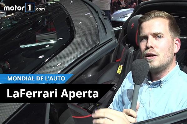 Auto Contenu spécial Vidéo - Dans la LaFerrari Aperta!