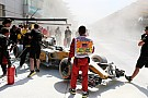 マレーシアGP:FP1でマグヌッセンのマシンが炎上
