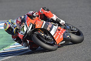 Superbike-WM Rennbericht Chaz Davies siegt in Jerez überragend - Kawasaki gewinnt Hersteller-WM