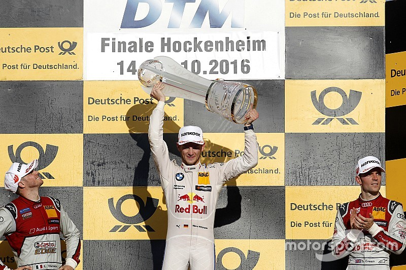 DTM 2016: Endstand der Fahrerwertung