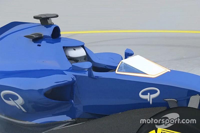 视频分析:F1主动式风挡