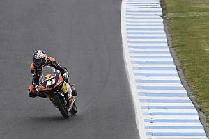 Moto3 Reporte de calificación Pole de Binder, violenta caída de Guevara