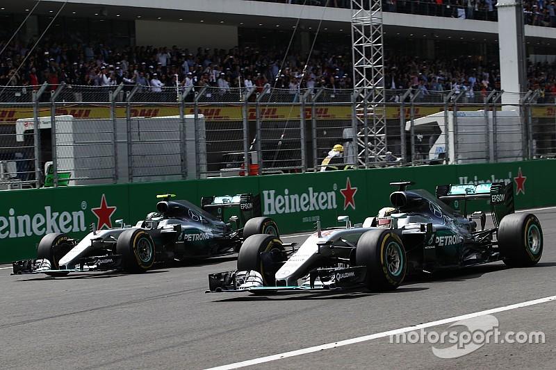 【F1】メルセデス「ロズベルグとハミルトンのPUの状況は、いずれも理想的ではない」