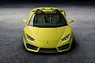 Automotive Lamborghini Huracan Spyder krijgt achterwielaandrijving
