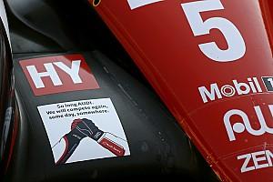 WEC Noticias de última hora Bonito homenaje de Toyota a Audi en su última carrera en el WEC