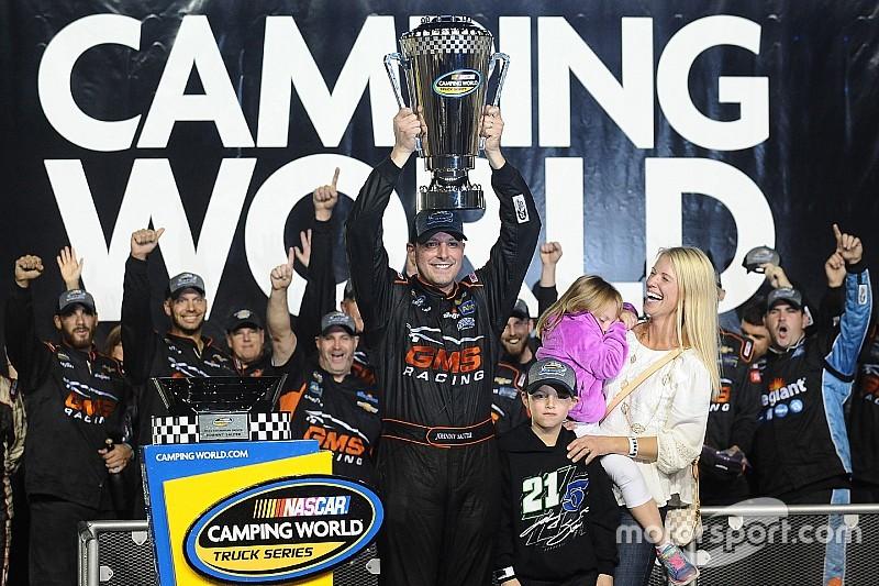 Johnny Sauter ist NASCAR Truck-Champion 2016