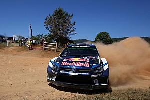 WRC Отчет о секции Ошибка Ожье обезопасила лидерство Миккельсена