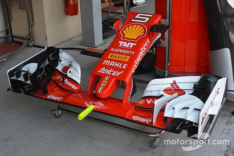 Технічний брифінг: Ferrari продовжує тести аеродинаміки