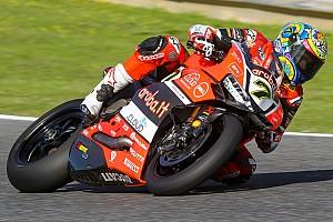 WSBK Test Jerez, Day 5: le Ducati di Davies e Melandri in vetta, ma domina la pioggia