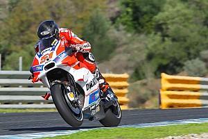 MotoGP Репортаж з тестів Тести в Хересі, п'ятниця: Останній день тестів зіпсував дощ