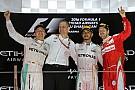 Abu Dhabi GP: Hamilton kazandı, Rosberg şampiyon oldu!