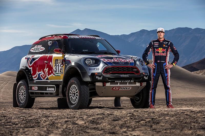 Menzies moet Dakar Rally 2017 wegens blessure laten schieten