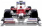 Quand Toyota présentait sa dernière F1