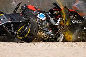 La FIA simuló cómo sería el accidente de Alonso en Australia con halo