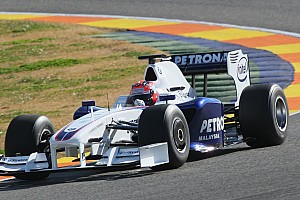 Forma-1 BRÉKING 8 éve mutatkozott be a BMW utolsó F1-es autója: F1.09