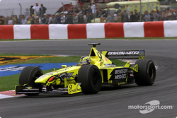 Less work for team mate Heinz-Harald Frentzen