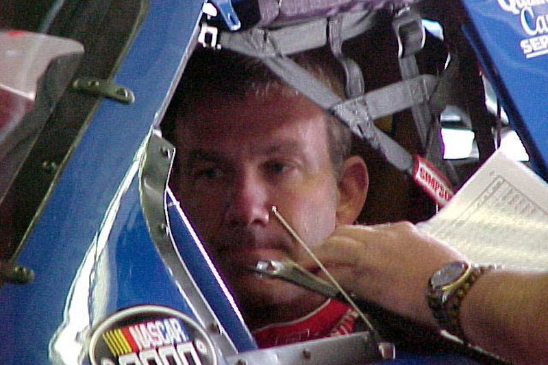 Mike Skinner in garage
