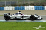 First laps for Juan Pablo Montoya