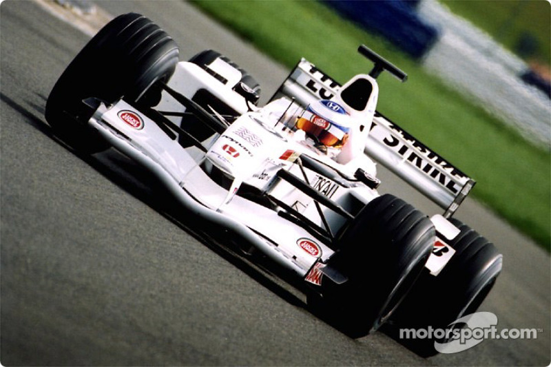 Olivier Panis in Luffield