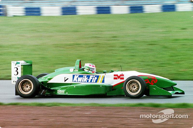 Ande Lotterer (D) Jaguar Racing
