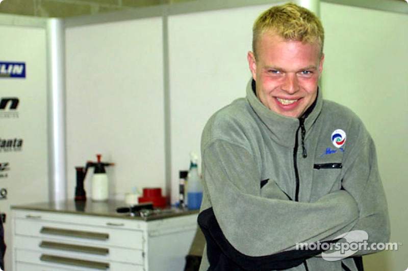 Panoz Motor Sports driver Jan Magnussen