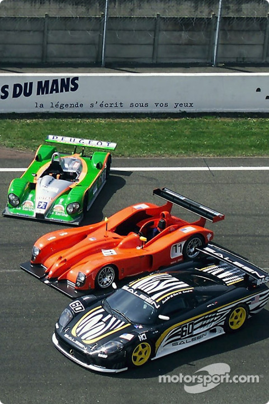 Courage-Peugeot, Panoz and Saleen