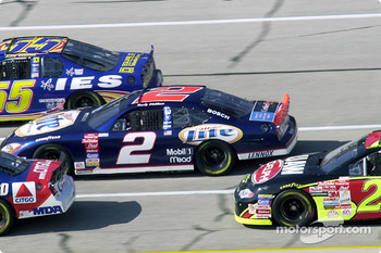 Rusty Wallace in the middle of the pack