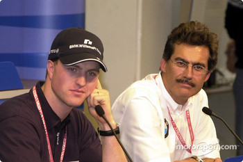 Press Conference: Ralf Schumacher and Dr. Mario Theissen